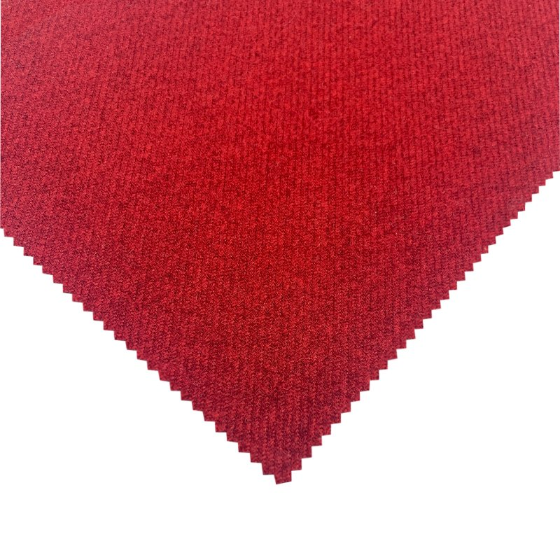 Red Removable Dog Mattress Cover